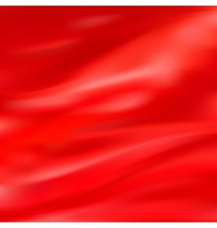 Abstract Texture Red Silk vector image vector image