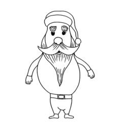 Cartoon Santa Clause vector image