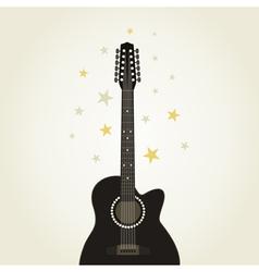 Guitar9 vector image vector image
