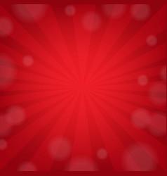 Red sunburst poster vector