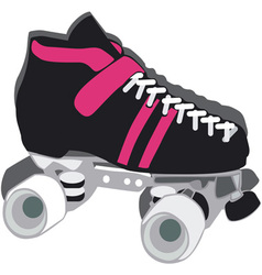 Rollar Skate vector image vector image
