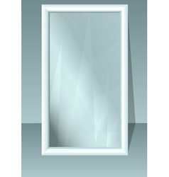 Full length mirror vector