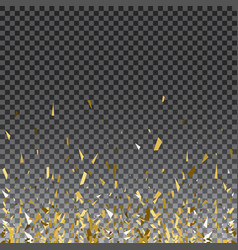 abstract gold glitter splatter background for the vector image vector image