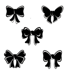 Hot New Bow vector image