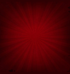 Red texture with sunburst vector