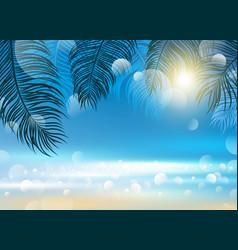summer background design vector image vector image