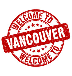 Welcome to vancouver vector