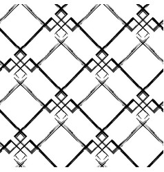 Abstract grunge diagonal seamless pattern vector