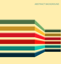 Background with colored stripes vector