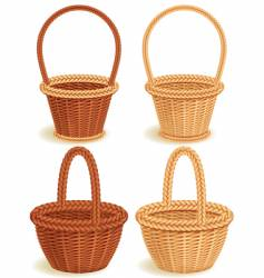 Baskets vector