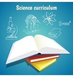 Science curriculum concept vector