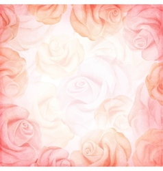 Abstract romantic background in pink colors vector
