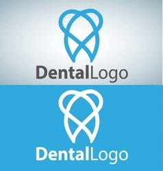 Dental logo 4 vector