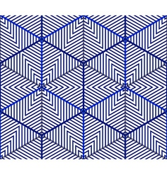 Endless colorful symmetric pattern graphic design vector image vector image