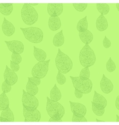 leaves Seamless stylish pattern vector image vector image