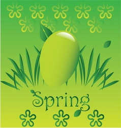 Spring easter 3 vector