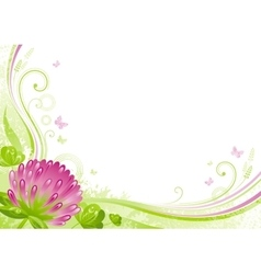 Spring background easter mothers day birthday vector