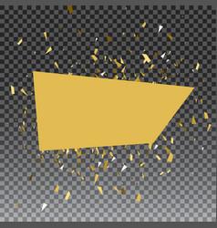 Abstract gold glitter splatter background for the vector