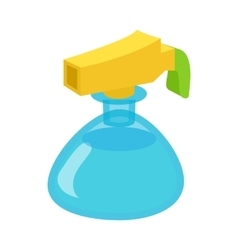 Sprayer bottle icon cartoon style vector