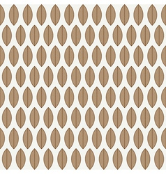 A seamless pattern with leaves vector image