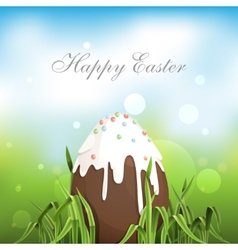 Chocolate Easter Egg vector image
