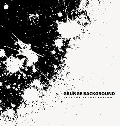 grunge splatter background design vector image vector image