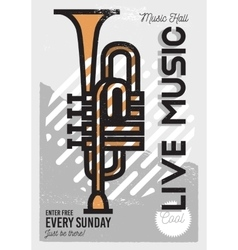 Live music minimalistic cool line art event music vector