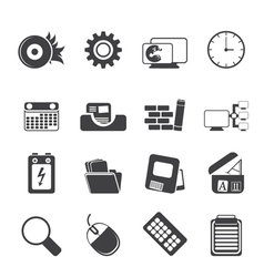 Mobile phone and internet vector
