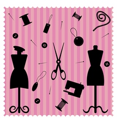 fashion salon vector image