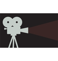 Cinema projector vector