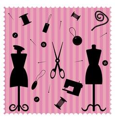 fashion salon vector image
