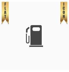 Fuel flat icon vector image vector image