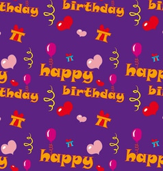Happy Birthday Texture vector image vector image