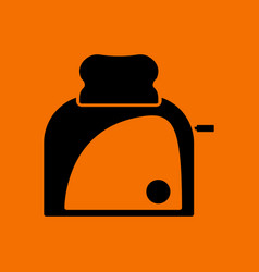 kitchen toaster icon vector image