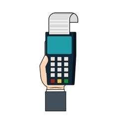 Dataphone money financial item vector