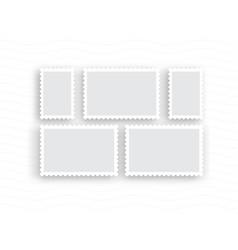 postage stamps vintage vector image