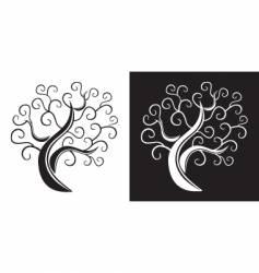 Trees design vector
