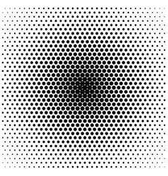 abstract halftone gradient background circle of vector image vector image
