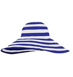 Beach hat vector