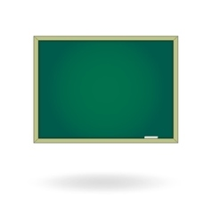 Blank chalk board drawing cartoon vector