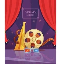Cinema Night vector image vector image