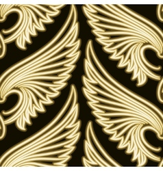 Wing Pattern vector image vector image