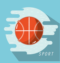 Basketball training play game sport vector