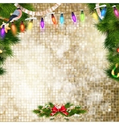 Christmas bells background eps 10 vector