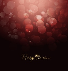 Magic christmas background vector