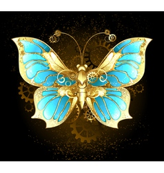Mechanical Butterfly vector image vector image