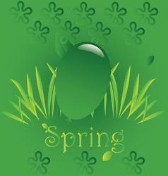 Spring easter 4 vector