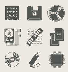 storage information set of vector image