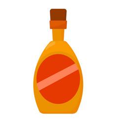 wine icon cartoon style vector image