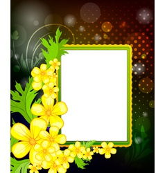 frame for photo vector image